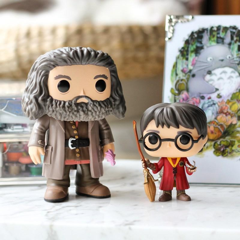 Last Week - I got myself a Hagrid Pop Funlo Vinyl doll to keep my Harry Potter Pop Funko company