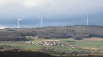 Windpark Verenafohren, Wiechs am Randen