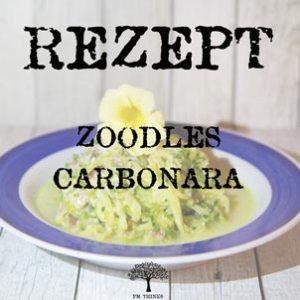 Rezept ZoodlesCarbonara