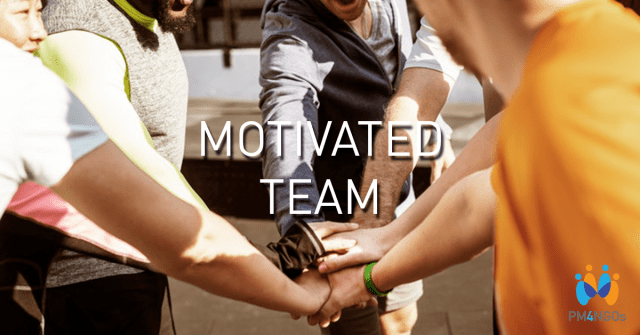 Motivated team