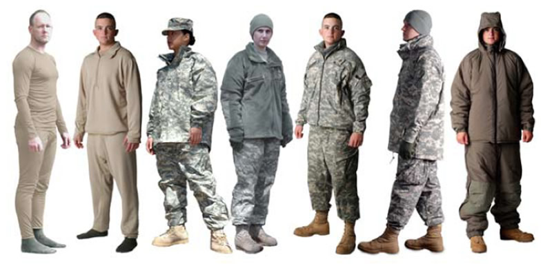 Military Layers