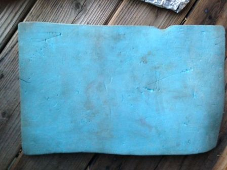 Blue Foam Pad
