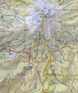 Map OR MtHood Delorme