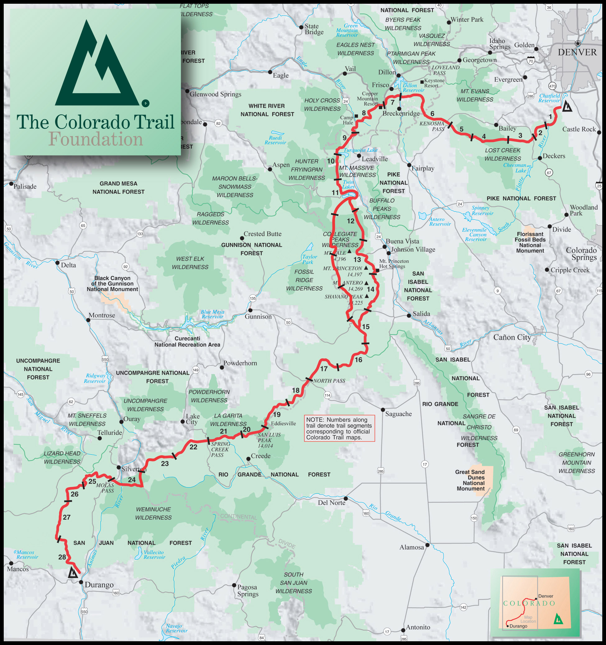 The Colorado Trail End To End Guide