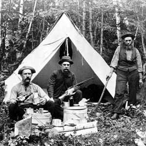 old-camping