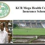 KCR Mega Health Cum Life Insurance Scheme Telangana Ryots Farmers