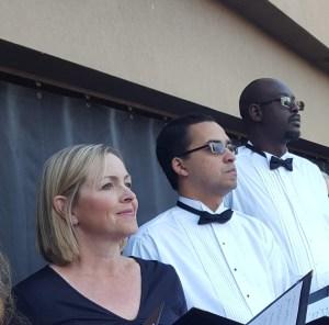 Chorale members