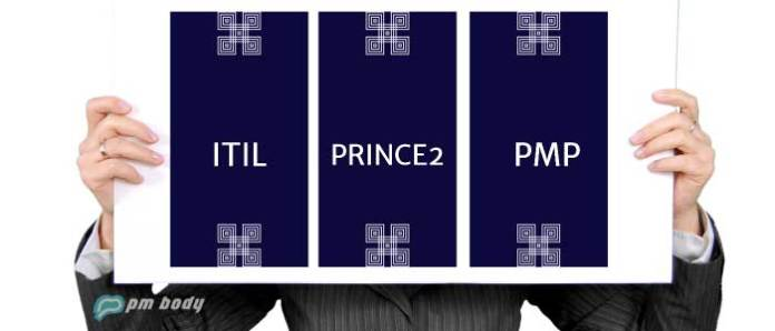 ITIL PRINCE2 PMP