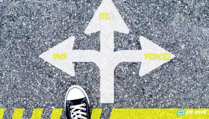 ITIL vs PRINCE2 vs PMP