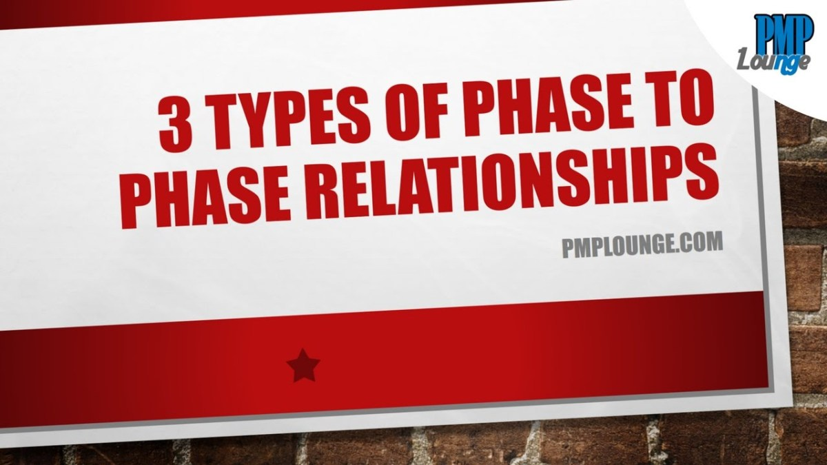 3 Types of Phase to Phase Relationships