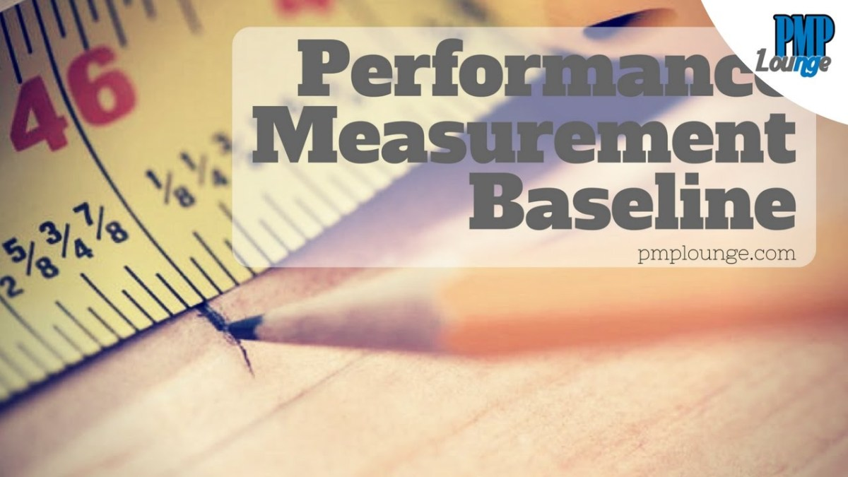 What is Performance Measurement Baseline (PMB)?