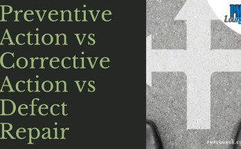 preventive action corrective action defect repair - Preventive Actions vs Defect Repair vs Corrective Actions