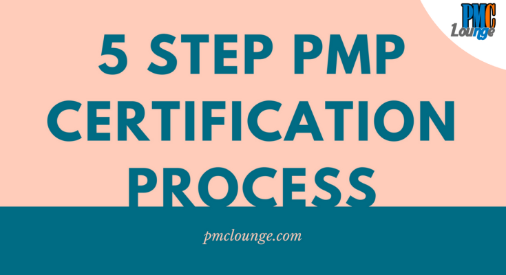The 5 Step PMP Certification Process - The 5 Step PMP Certification Process