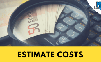estimate costs process - Estimate Costs Process