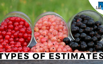 types of cost estimates