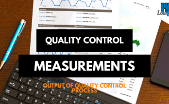 quality control measurements - Quality Control Measurements