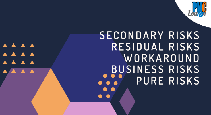 secondary residual business pure risks workaround - Secondary Risks | Residual Risks | Workaround | Business Risks | Pure Risks