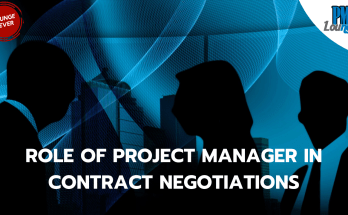 role of project manager in contract negotiations - Shouldn't the Legal Department be doing Contract Negotiations?