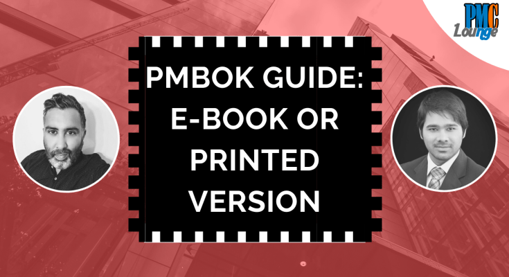 pmp tips from certified project manager - PMBOK Guide: E-book or Printed Version? | PMP Tips from a Certified Project Manager