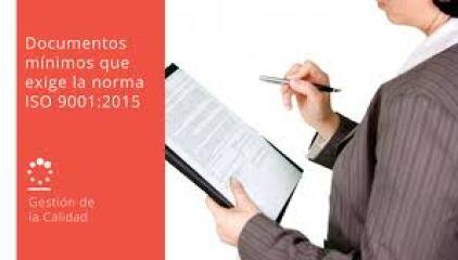 Documentos en ISO 9001:2015