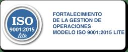 fortalecimiento de la gestion de operaciones modelo ISO 9001 Lite