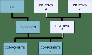 estructura de objetivos
