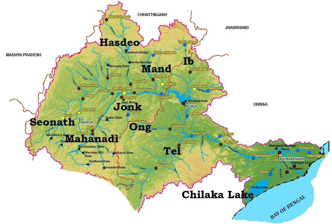 Mahanadi River basin