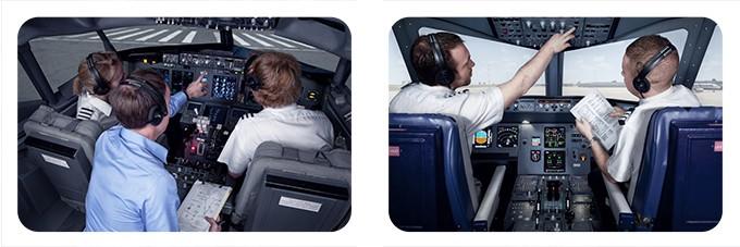 pmFlight 737  A320 Flight Simulators