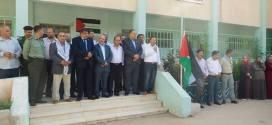 الأجهزة الأمنية في محافظة طوباس تشارك في انطلاق العام الدراسي من قرية عاطوف