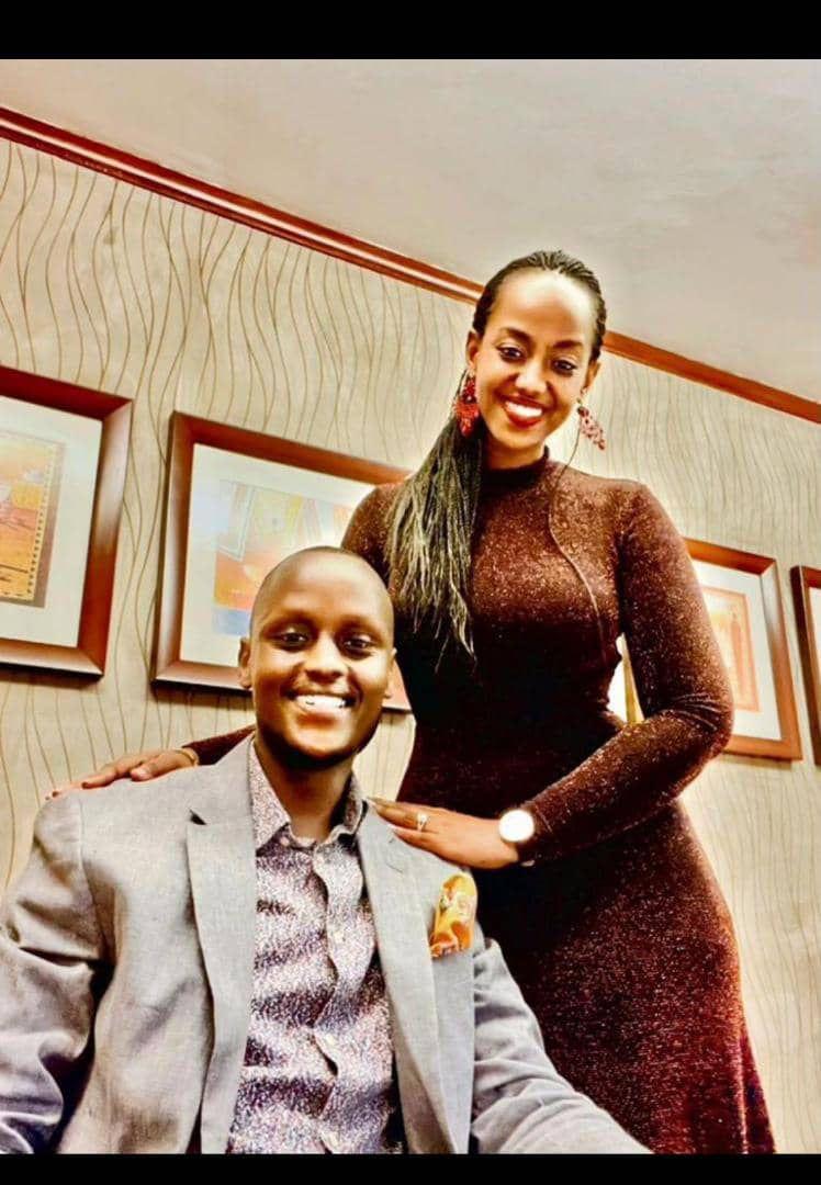 Dr. Angela Kakishozi, pictured with Amanya Tumukunde (PHOTO/Eagle online).