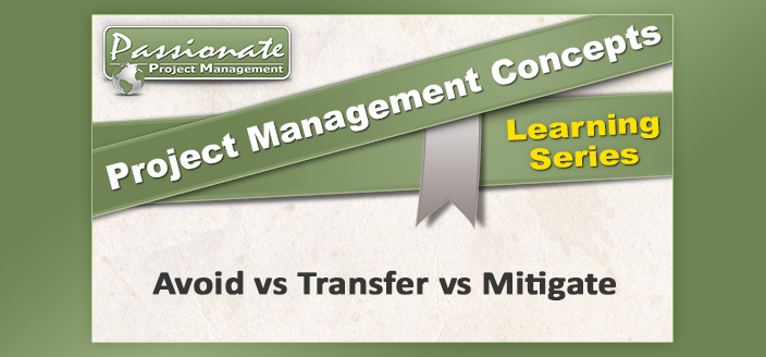 Avoid vs Transfer vs Mitigate