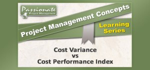 Cost Variance vs Cost Performance Index