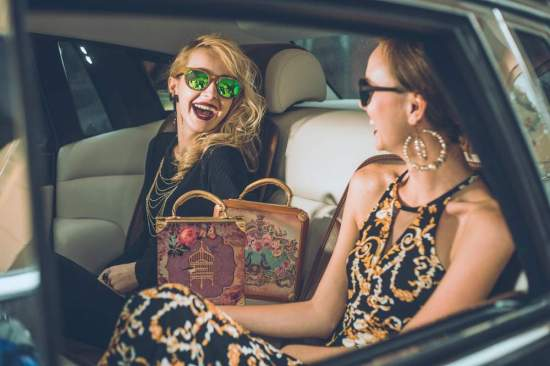 rouch collections purse sunglasses