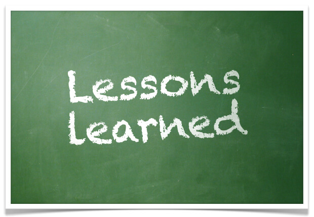 Image result for lessons learnt