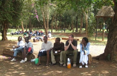 JD Moore in Kenya