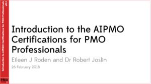 PMO Learning AIPMO