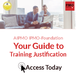 Training Justification for the PMO