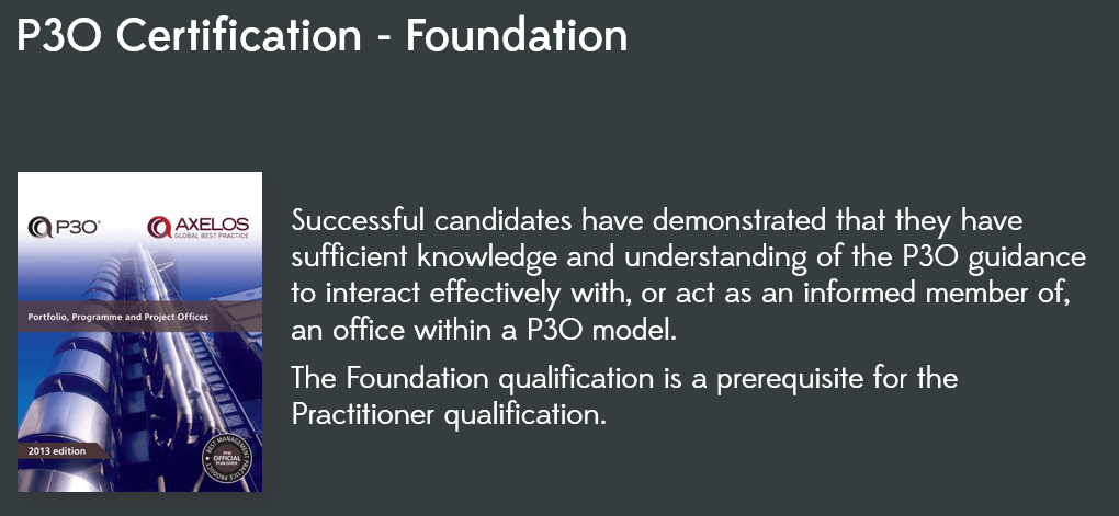 P3O Foundation