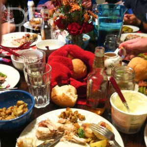 thanksigiving table