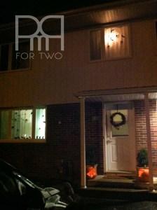 halloween silhouette window decor 4