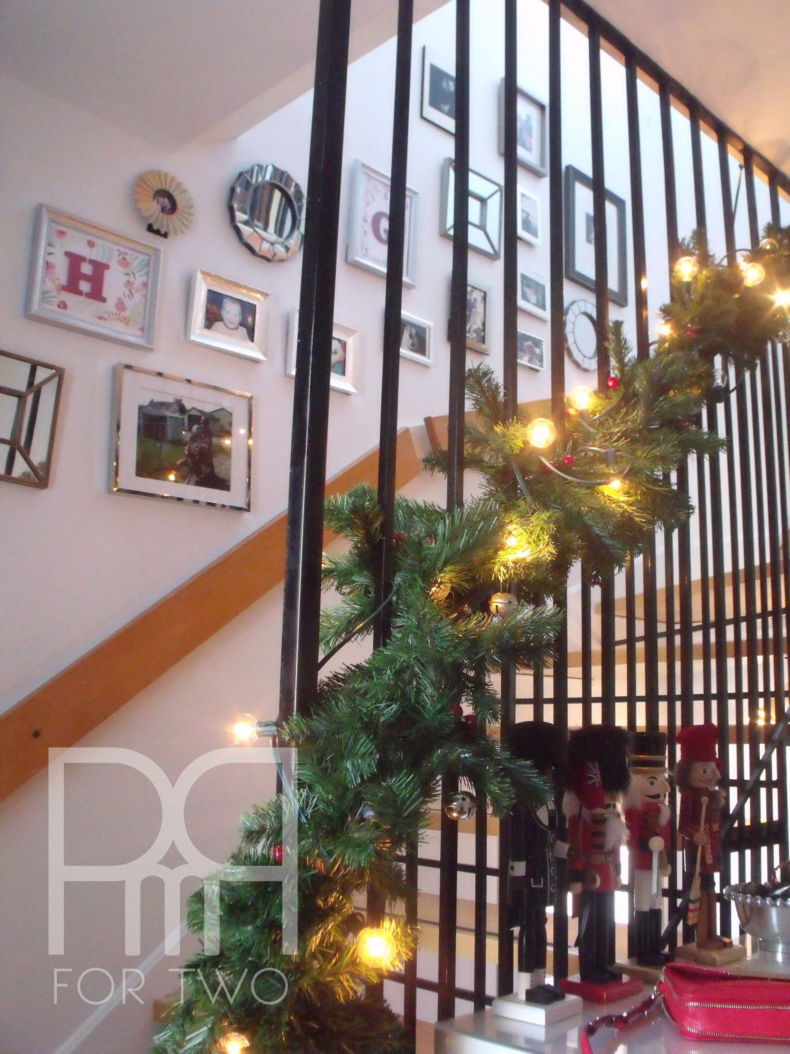 christmas staircase bough 2