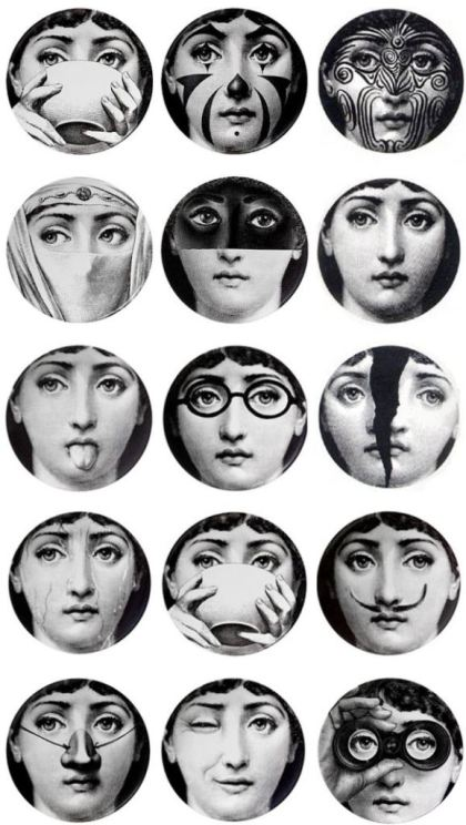 My Fornasetti Gallery Wall