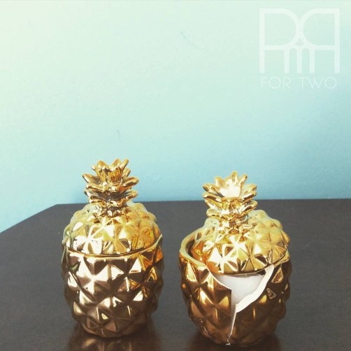 golden pineapple H&M