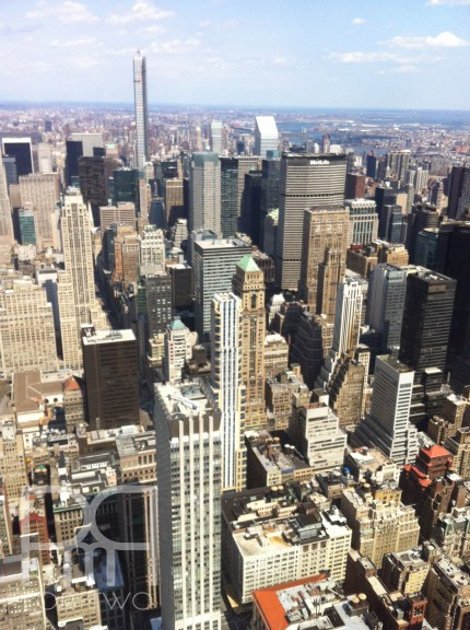 pmq for two travels to NYC top of the empire state building