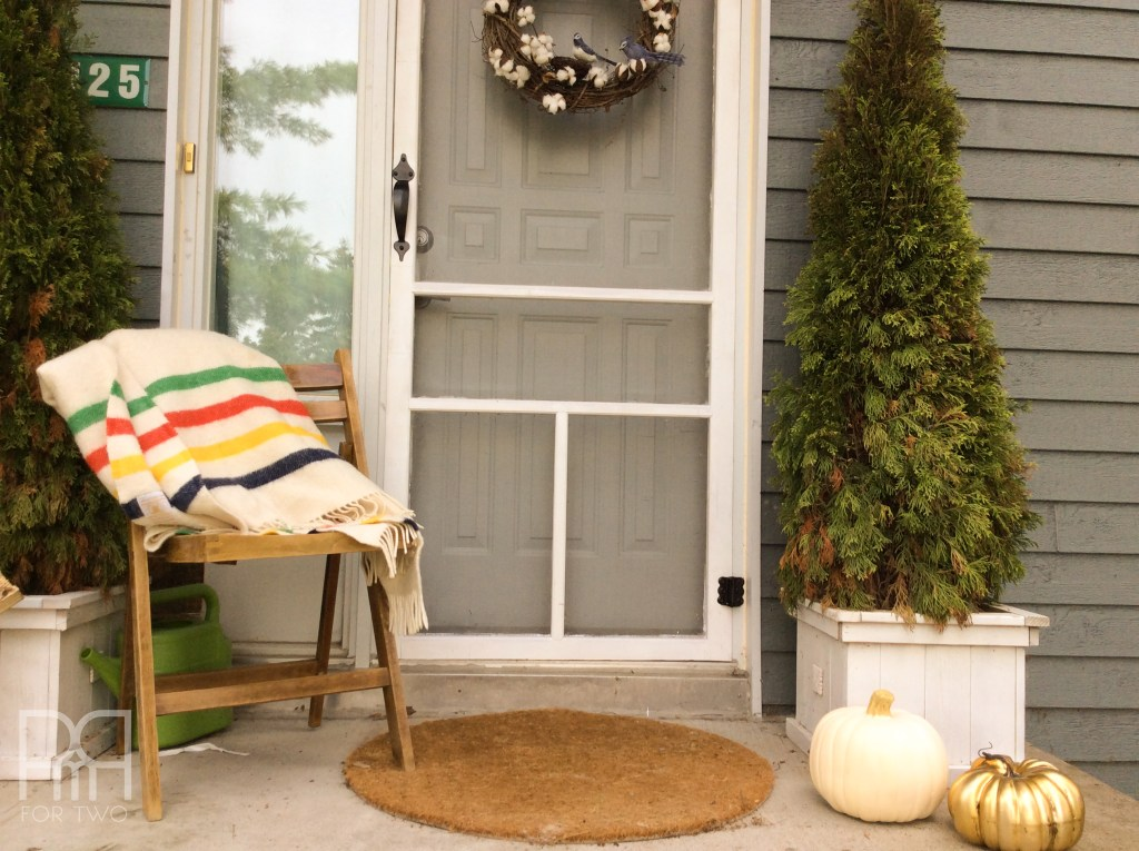 Fall Porch Style