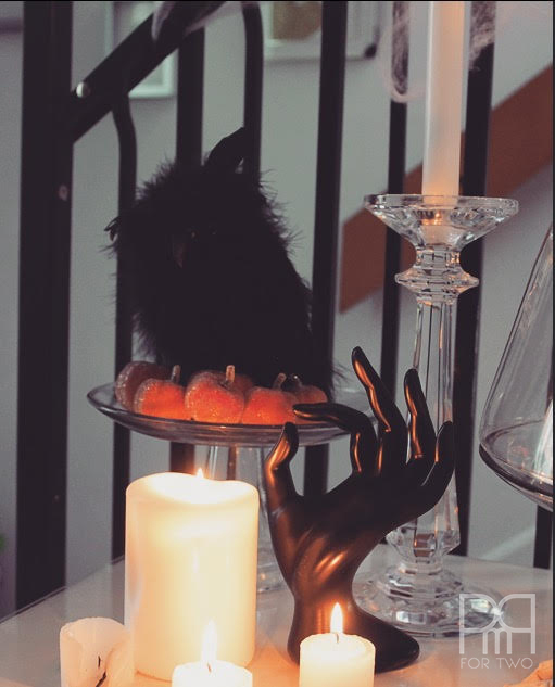 halloween entryway decor 4