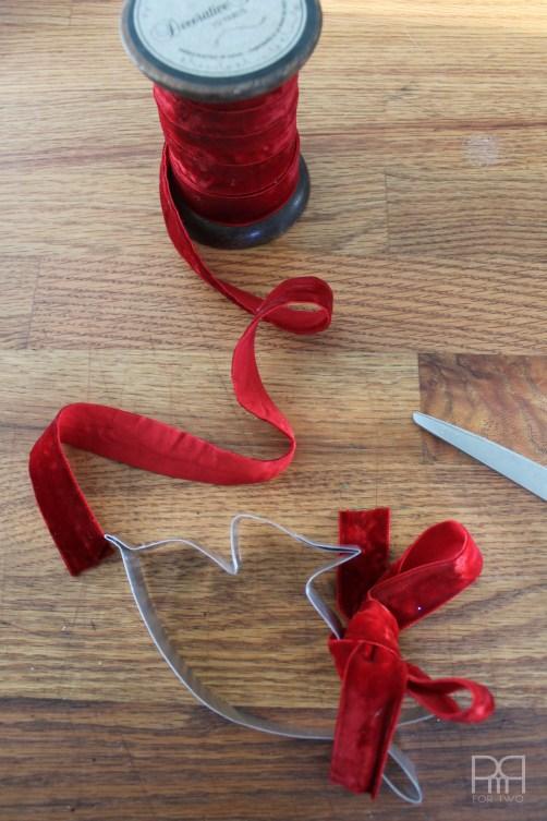 diy cookie cutter ribbon