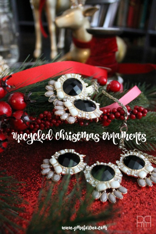 upcycled christmas ornaments 1