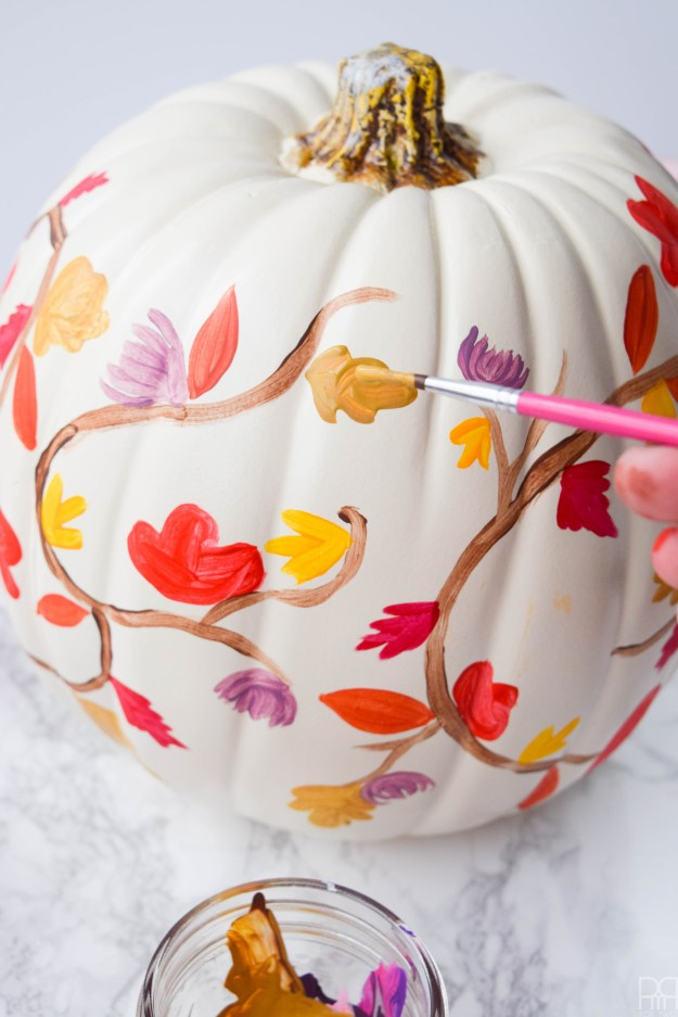 diy-painted-fall-pumpkins-7
