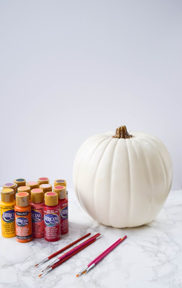 diy-painted-fall-pumpkins